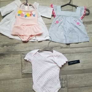 NWOT Newborn outfits